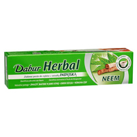 Dentífrico neem Dabur 100 ml.